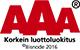 AAA Korkein luottoluokitus Bisnod 2014