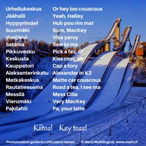 Lahti places